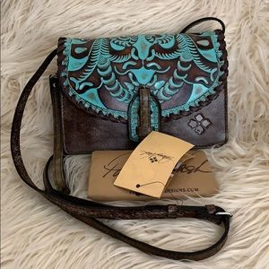 Patricia Nash Crossbody bag Tooled Turquoise